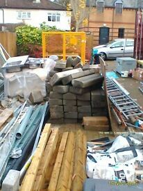 Concrete Curbs - Used Large