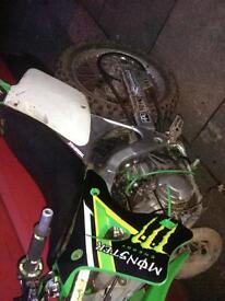 Kx 125 little end bearing on its way out