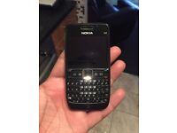 Nokia E63 locked to 3 network