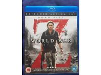 World war z blu ray DVD new condition