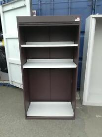 Brown Filing storage cupboard unit on sale just £35 only bargain!!