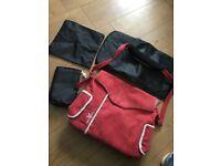 Wallaboo changing bag and matching carseat footmuff