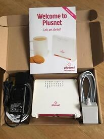 Plus Net Wi-Fi Router 2704n Brand New