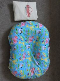 Baby pillow - Poddlepod for nap time snuggles, suitable for use for newborn