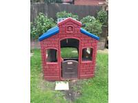 Little tikes earth playhouse