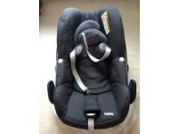Maxi-cosi pebble car seat group 0