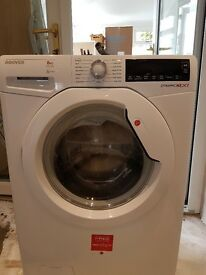 Hoover washing machine 8kg just over 1yr old excellent condition..