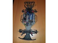 Traxxas slash 4x4 ROLLER ROLLING CHASSIS