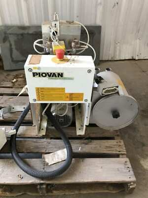 Piovan Rn166 Resin Pellet Plastic Granulator For Injection Molding 1.5kw 460v