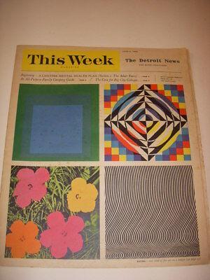 THIS WEEK MAGAZINE, DETROIT NEWS, JUNE 5, 1966, BEST OF MARK TWAIN, HAL