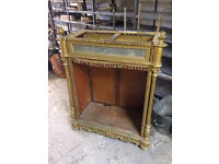 Rococo/ morrocan style display case.