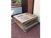 Large and Medium Packing/Storage Boxes - Used once!