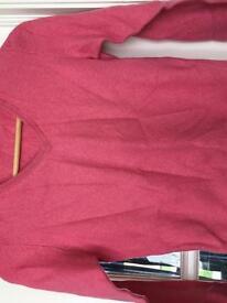 Pink Cashmere Jumper