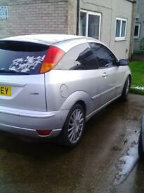 2002 st170 focus full leather, silver, spares or repair.