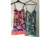 Ladies summer/beach dresses size 8