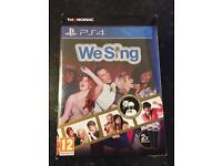 We sing with Mics for ps4 brand new in box with receipt