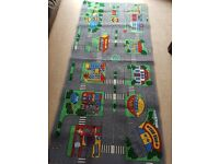 Childrens car play mat