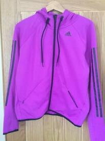 Adidas ladies climalite zip top jacket