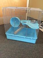 Hamster/small animal cage.