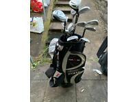 Golf clubs. 2 sets