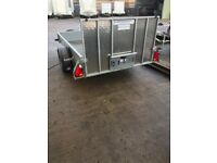 P8e Ifor Williams trailer with ramp