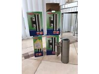 4 up down outdoor lights brand new in box
