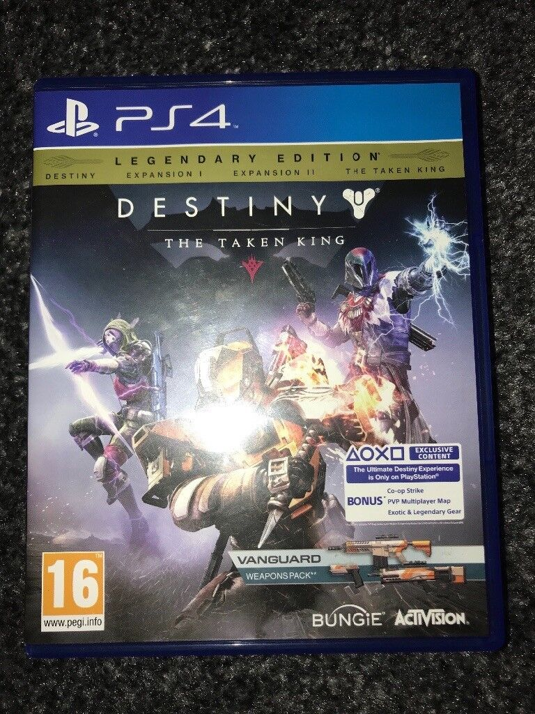 PS4 game - Destiny the taken king