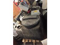 Drain pomp/macerator house waste tank+ pump
