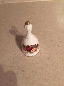 Royal Albert 'Old Country Roses' bell
