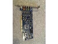 Sound Blaster X-Fi Xtreme Fidelity Sound Card