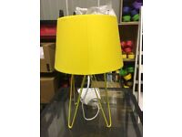 Yellow Collins table lamp
