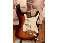 Fender American Deluxe HSS Stratocaster Guitar – 2005 - Sunburst