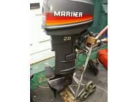 20 hp mariner 2 stroke outboard motor