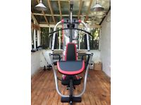 Home multigym £100 Weider Pro 5500 Set up for inspection but will be dismantled for Pick up only