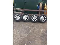 5x112 Vw golf mk5 allot wheels and tyres