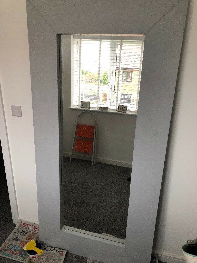 Grey Ikea Mongstad Mirror