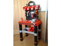 Children's Smoby Black and Decker Workbench (excellent condition)