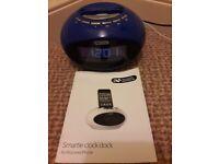 iPod docking station & radio alarm clock