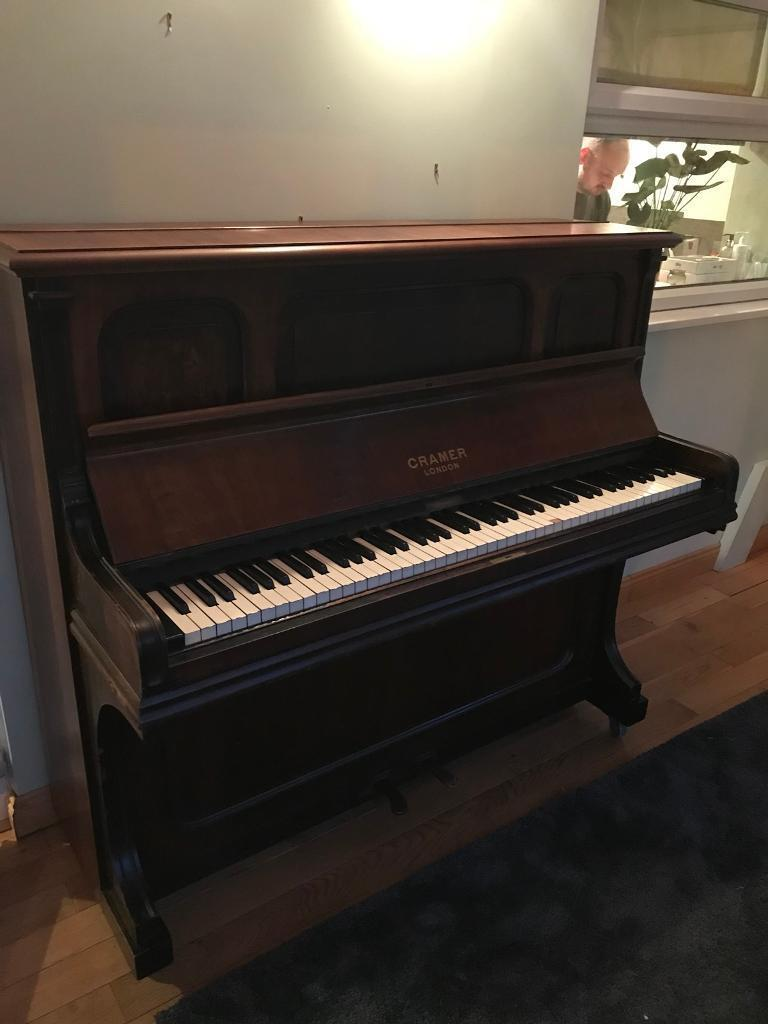 Cramer upright piano