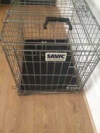 Small dog travel cage