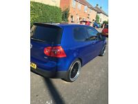 VOLKSWAGEN GOLF 1.9 TDI 2005 BLUE