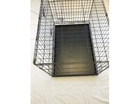 CHARITY SALE: Pet cage 70cm wide, 70cm tall, 105cm long. All money to rescue homeless cats and dogs.