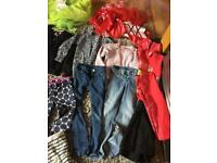 Bundle of girls clothes age 6 years