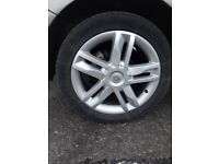 17 inch alloy wheels for renault