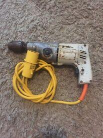 Wolf hammer drill 110v