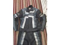 RST motorbike race leathers