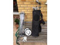 Golf Club Bag & Trolley
