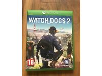 Watchdogs 2 , Xbox one , as New ! Price stands , no offers !