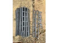 28 awning ladders and 4 clips