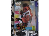 RARE WWE/ WWF WRESTLING SUPER STARS POSTER MAGAZINE SHAWN MICHEALS OVER OTHER MAGAZINES FOR SALE